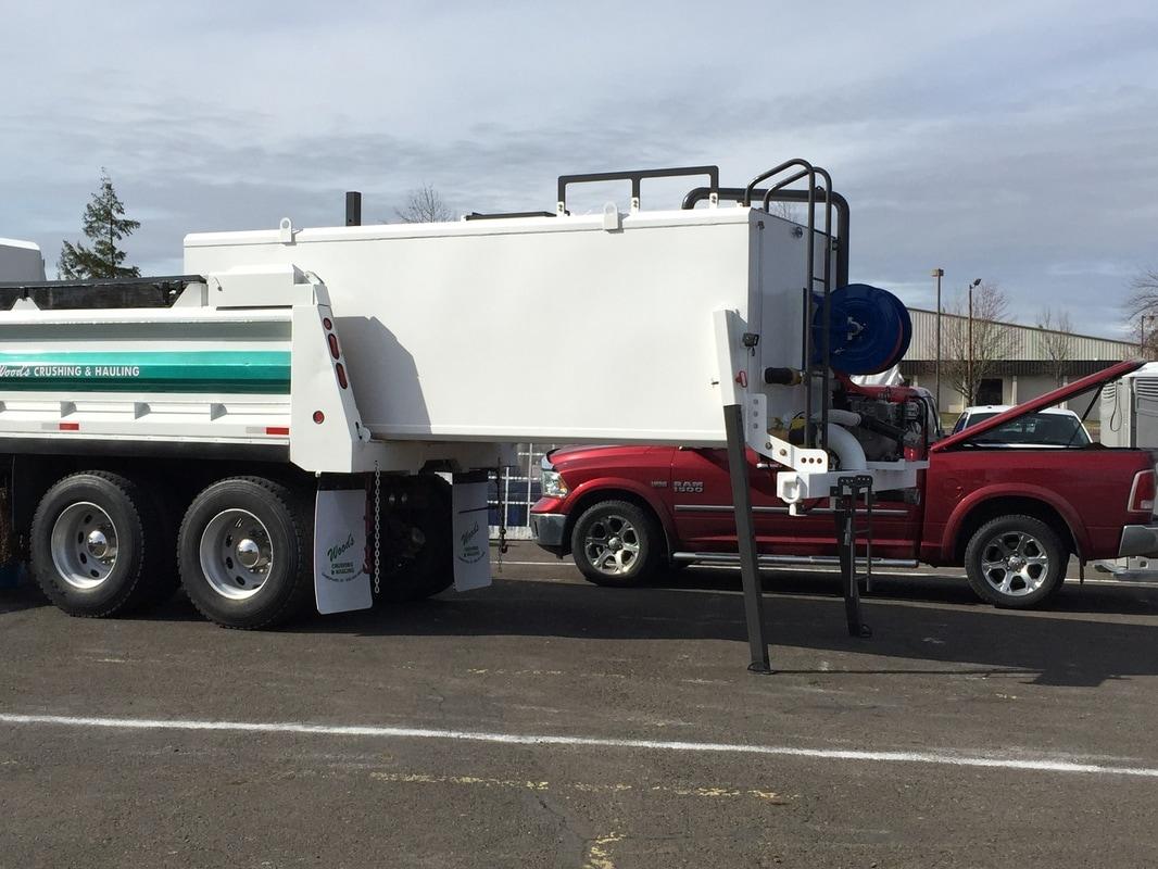 Slide in Water Tanks for Dump Trucks - Steve Peck Fabrication